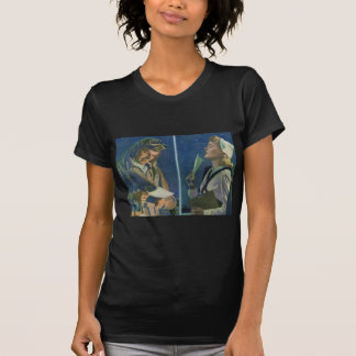 WWII pilot and nurse long distance romance T Shirt
