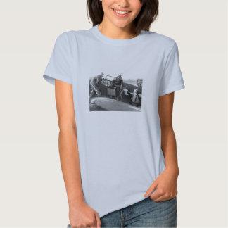 WWII Pilot + Crew of a P-51A Mustang T-shirt