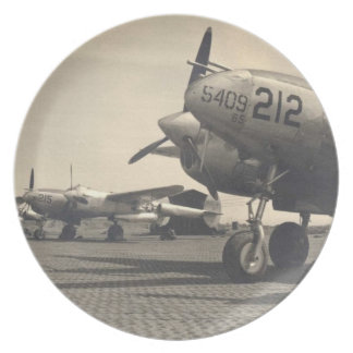 WWII Planes Plate