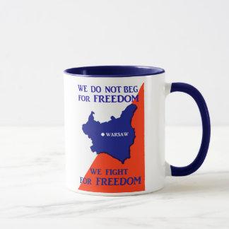 WWII Poland Fights for Freedom Mug