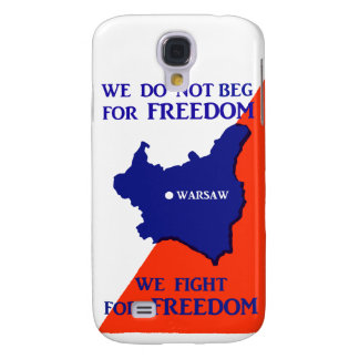 WWII Poland Fights for Freedom Samsung S4 Case