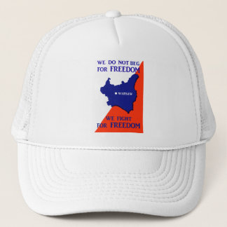 WWII Poland Fights for Freedom Trucker Hat
