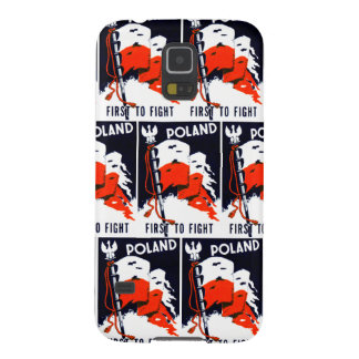 WWII Poland, First To Fight Poster Galaxy S5 Covers