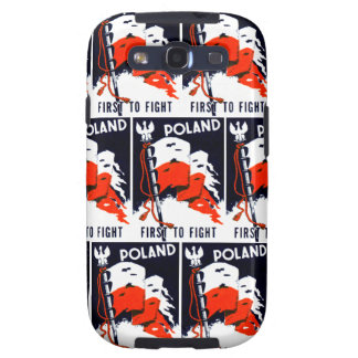 WWII Poland, First To Fight Poster Samsung Galaxy SIII Cover