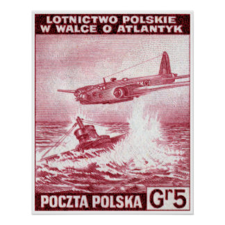 WWII Polish Air Force Poster