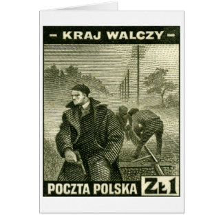 WWII Polish Home Army Card