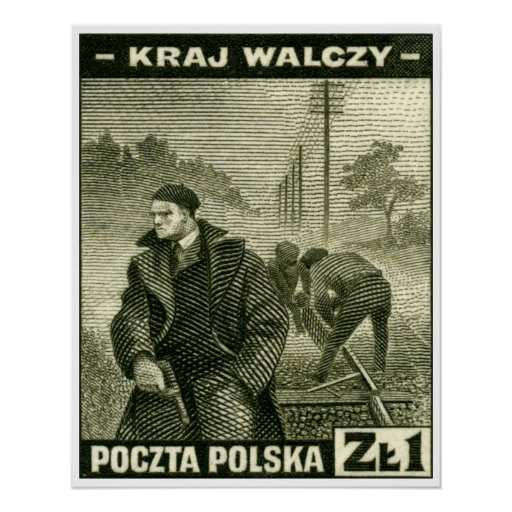 WWII Polish Home Army Poster