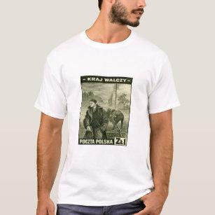 f2aa33fe0 Polish Army T-Shirts - T-Shirt Design & Printing | Zazzle