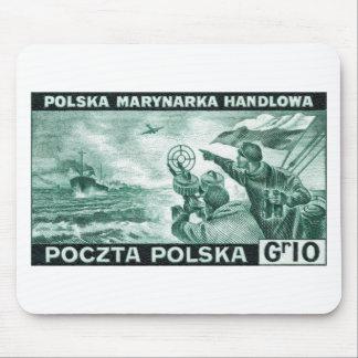 WWII Polish Merchant Navy Mouse Pad