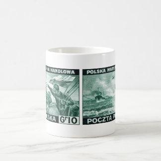 WWII Polish Merchant Navy Classic White Coffee Mug