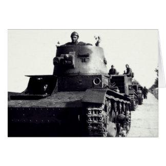 WWII Polish Tanks Cards