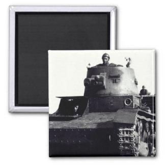 WWII Polish Tanks Refrigerator Magnet