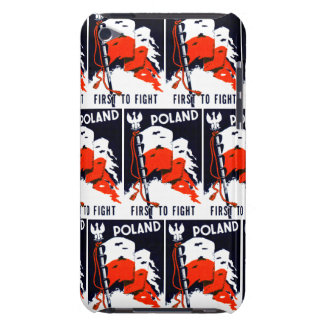 WWII Polonia, primero luchar el poster Case-Mate iPod Touch Carcasas