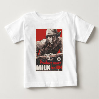 WWII - Produce More Milk for HIm Shirt
