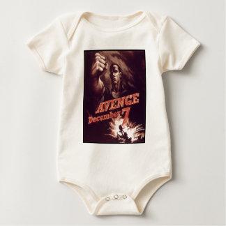 WWII Propaganda Poster Apparel Baby Bodysuit