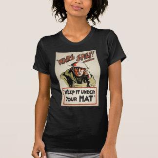 WWII Propaganda Poster Apparel T Shirt