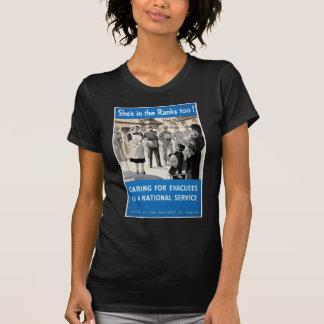 WWII Propaganda Poster Apparel Tee Shirts