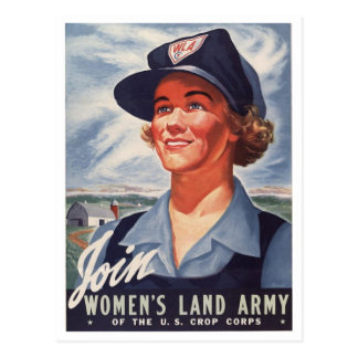 WWII Recruiting Posters - Women Postcard