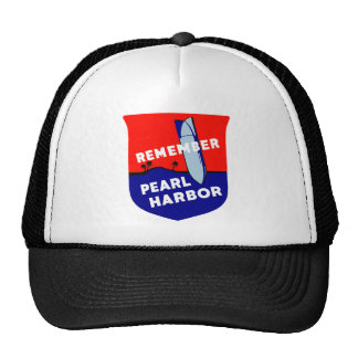 WWII Remember Pearl Harbor Trucker Hat