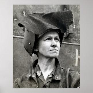 WWII Rosie el remachador Póster