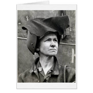 WWII Rosie the Riveter Card