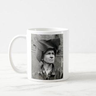 WWII Rosie the Riveter Coffee Mug