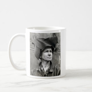WWII Rosie the Riveter Coffee Mugs