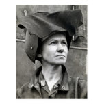 WWII Rosie the Riveter Postcard