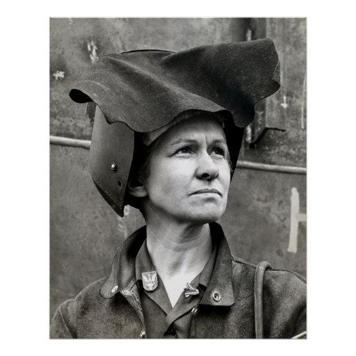 WWII Rosie the Riveter Posters
