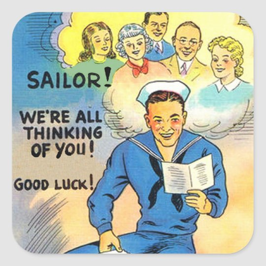 WWII Sailor US Army Stickers