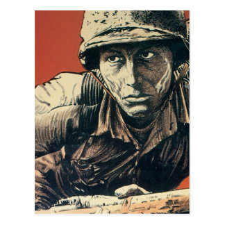 WWII Soldier Post Card