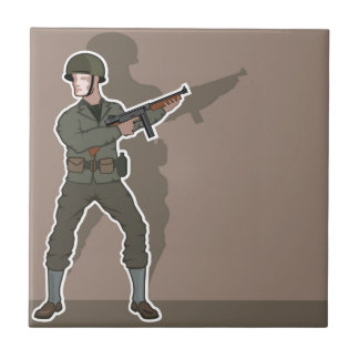 WWII soldier Tile