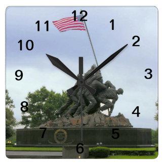 WWII Square Clock