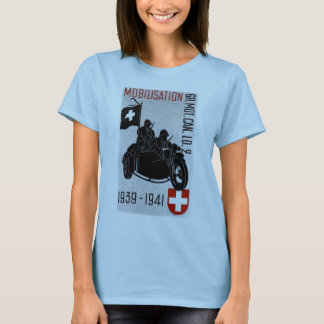 WWII Swiss Recon Motorcycle T-Shirt