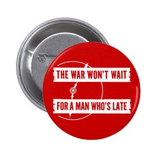 WWII The War Won't Wait Button