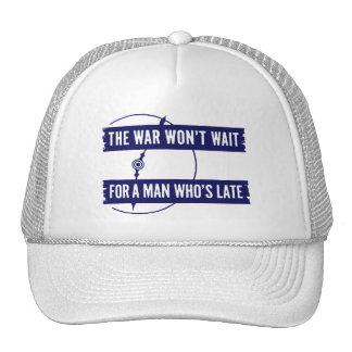 WWII The War Won't Wait Hat