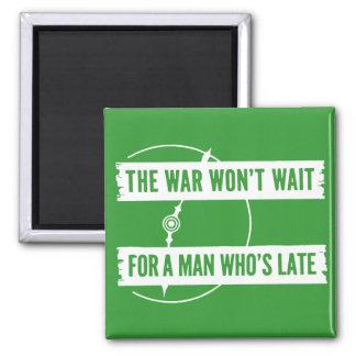 WWII The War Won't Wait Magnet