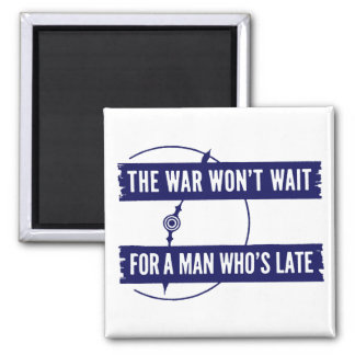 WWII The War Won't Wait Magnets