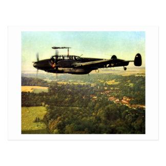 WWII tres Bf-110 alemán Tarjetas Postales