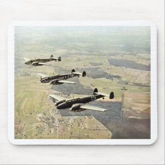 WWII tres Messerschmitt ME-110 Tapetes De Ratón