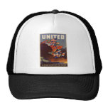 WWII United Nations Mesh Hat