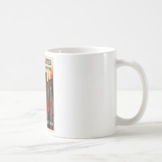 WWII United We Are Strong United We Will Win Coffee Mug