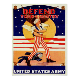 WWII US Army Uncle Sam Poster