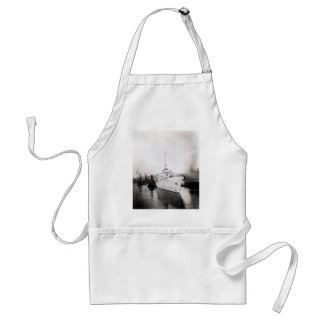 WWII US Coast Guard Cutter Campbell Adult Apron