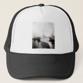 WWII US Coast Guard Cutter Campbell Trucker Hat