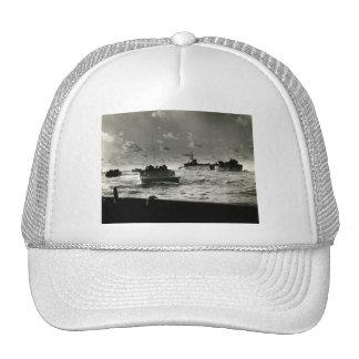 WWII US Marines assault Iwo Jima Mesh Hat