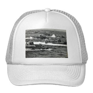 WWII US Marines invade Iwo Jima Hats