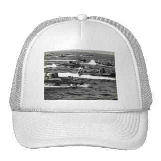WWII US Marines invade Iwo Jima Trucker Hat