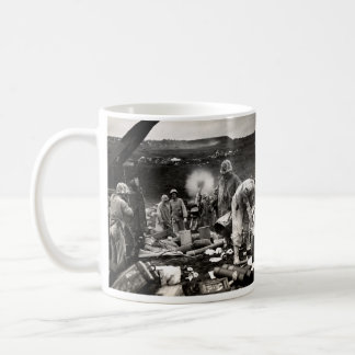 WWII US Marines on Iwo Jima Coffee Mug