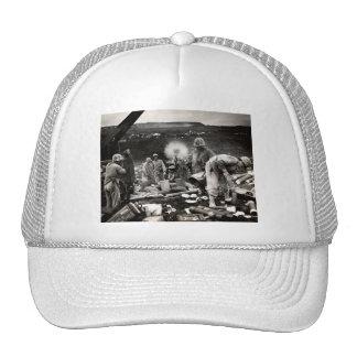 WWII US Marines on Iwo Jima Hat